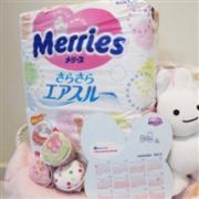 花王 Merries 纸尿裤 腰贴式 S码 54枚×4件