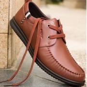 2018春季新款,红蜻蜓 男式真皮商务休闲皮鞋 2色