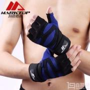 Marktop 玛克拓普 M9052 腕带款健身手套(一对装)¥39包邮(领取¥20优惠券)