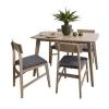 KUKA 顾家家居 PT1571 餐桌椅组合 原木色 一桌四椅1999元包邮(双重优惠)