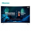 Hisense 海信 LED65EC880UCQ 65英寸 ULED超画质 曲面4K电视8399元包邮(6000-600)