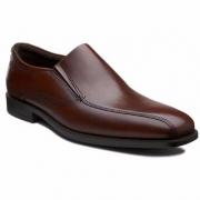 ECCO 爱步 男士真皮一脚蹬皮鞋 新低$63.5