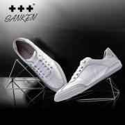 韩国潮牌 Sanken 男子板鞋 羊皮鞋面 2色可选