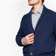 LA REDOUTE 乐都特 Collections 男士V领针织开衫€21.99可凑单包直邮(约¥175)