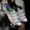 Adidas 阿迪达斯 Superstar Pride Pack 男士彩虹波点贝壳头 $29.99到手¥260