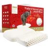TAIPATEX 乳胶家庭套装(按摩护颈枕+透气护肩枕)396元包邮