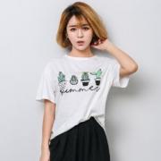 F.O.9 韩版棉t恤短袖女上衣