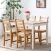 精邦 LS05W01 圣保罗实木餐桌椅套装699元包邮