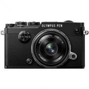 OLYMPUS 奥林巴斯 PEN-F(17mm f/1.8) 无反相机套机 黑色