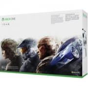 Microsoft 微软 Xbox One S 1TB 游戏机 +《极限竞速 5》光盘版
