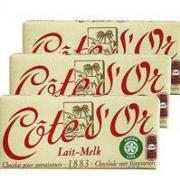 COTE D'OR 克特多金象 比利时牛奶巧克力 150g*3