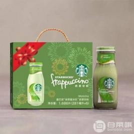 Starbucks 星巴克 抹茶星冰乐 281ml*6瓶