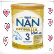 Nestle NAN HA Gold雀巢超级能恩 澳洲金装3段婴儿奶粉(1-3岁)800gAU$24.95,约122.12元