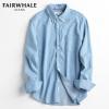 马克华菲(Mark Fairwhale)   男士秋季纯棉牛仔衬衫¥148