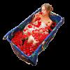 浮德堡 简易折叠家用浴缸358元包邮(已降40元)
