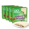 英国超市最常见的饼干品牌 Go ahead 酸奶低脂饼干 178g*4盒装47.5元包邮前100件19.9元