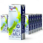 Theland 纽仕兰 全脂牛奶 250ml*24盒69元