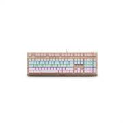 RAPOO 雷柏 V510S 混彩背光机械键盘 + V210 游戏鼠标179元包邮