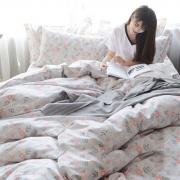 绒美 纯棉床上四件套 1.5/1.8m¥128