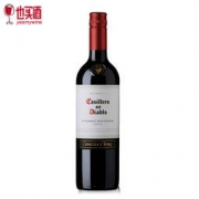 Casillero del Diablo 红魔鬼 赤霞珠 红葡萄酒 750ml*2件