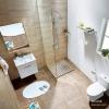 Enzorodi 安住 浴室套餐 马桶+浴室柜(带镜子)+面盆龙头+淋浴花洒¥2299包邮 (¥2399-100)