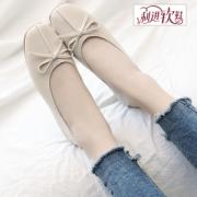 利进 女春季单鞋 浅口豆豆鞋29.9元包邮