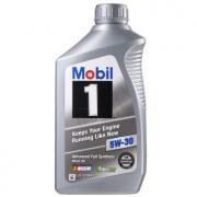 Mobil 美孚 美孚1号 SN 5W-30 全合成机油 946ml 美国原装进口 *7件