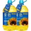 美临 葵花籽油 脱壳压榨 食用油 家庭装 4L*1桶 (欧洲进口原料) *2件49.9元(合24.95元/件)
