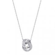 SWAROVSKI 施华洛世奇 Further 5240524 环扣女士项链  折392.12元(双重优惠)
