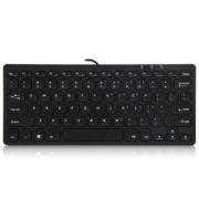 B.O.W 航世 HW098A 有线usb超薄键盘