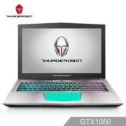 ThundeRobot 雷神 Dino-X6 15.6英寸游戏本电脑(I7-7700HQ 8G 128G SSD+1T 8G GTX1060 6G)