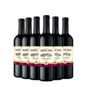 Doris New 新多乐丝 干红葡萄酒 750ml*6支整箱装 送开瓶器