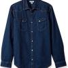 S/L码!Calvin Klein Jeans男士牛仔衬衫$23.86(折¥152.70) 5.8折