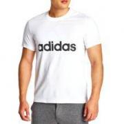Adidas 运动型格 男子夏季运动T恤