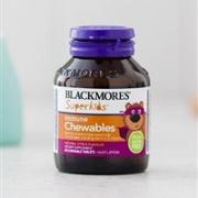 Blackmores 儿童提高免疫力咀嚼片 60片(不含人工色素/甜味剂) 改善偏食