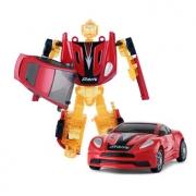 rastar星辉 RS战警手动变形机器人1:64儿童玩具