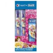 Oral-B 儿童牙刷牙膏节日装(2个牙刷+牙膏)