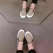 限尺码:COACH蔻驰Cameron Outline女士一脚蹬休闲鞋 两色可选