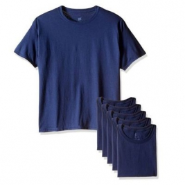 Hanes 恒适 圆领打底T恤4件装 Prime会员凑单免费直邮含税