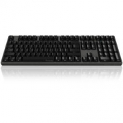 Akko 艾酷 Ducky Zero 3108 PBT 侧刻 机械键盘 黑色 CherryMX红轴