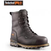 Timberland PRO 添柏岚 男士8英寸Boondock真皮防水工装靴 3.5折$80.99