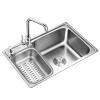 水贞 厨房304不锈钢水槽59.8元起包邮