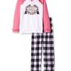 Prime会员!JUICY Couture 女童睡衣套装 2件套¥45.67