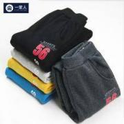 UNITED FOODS 韩版 男童运动裤