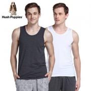 Hush Puppies 暇步士 男士弹力棉运动背心2件装¥79包邮(需领¥40优惠券)