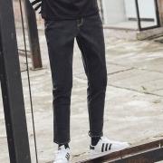 韩都衣舍 18春款 男式 修身小脚牛仔裤