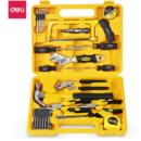 得力(deli)25件套多功能组合工具箱