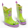 kidorable温婉绿仙女儿童雨鞋