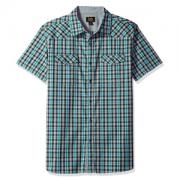 Lee 李 Russell 男士短袖弹力衬衫