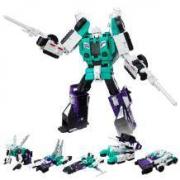 Hasbro 孩之宝 变形金刚 泰坦战争 领袖级 C0286 六面兽